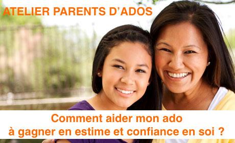 Atelier pour parents d'ados – Comment aider mon ado à gagner en estime et confiance en soi