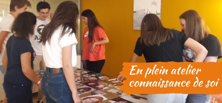 """Témoignages Ado du stage """"mieux se connaître pour mieux choisir"""" Juin 2019"""